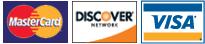 Oilman acepts Mastercard, Discover, and Visa