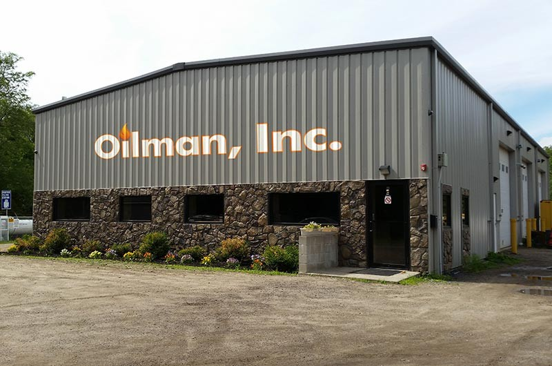 Oilman, Inc's building in Foxboro, MA